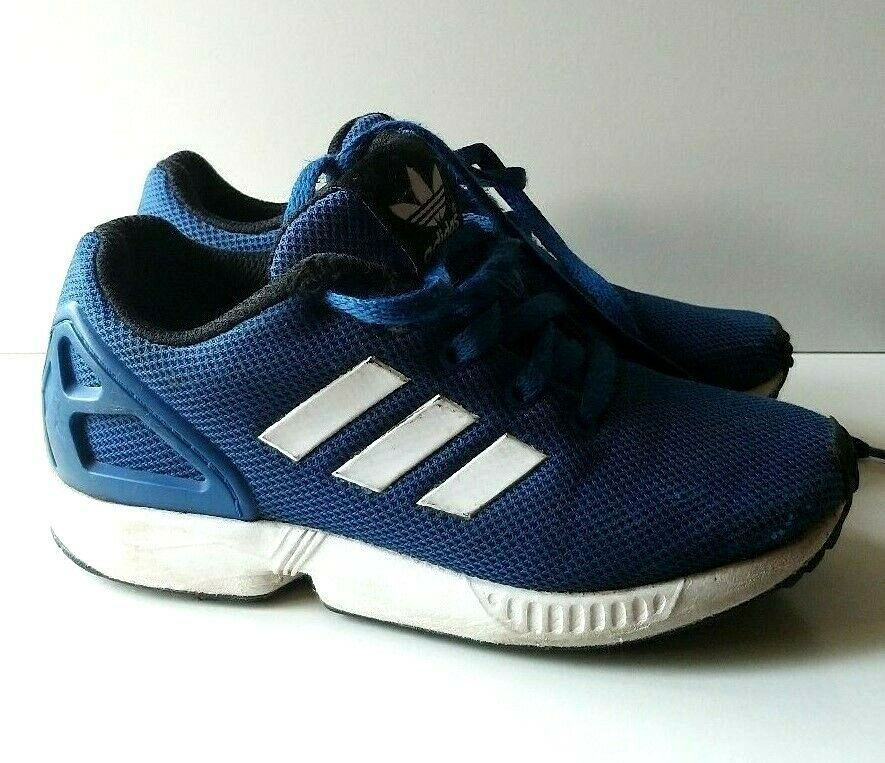 the latest 7b688 82ea5 Adidas Originals ZX Flux Torsion Blue OrtholiteTRAINERS SIZE ...