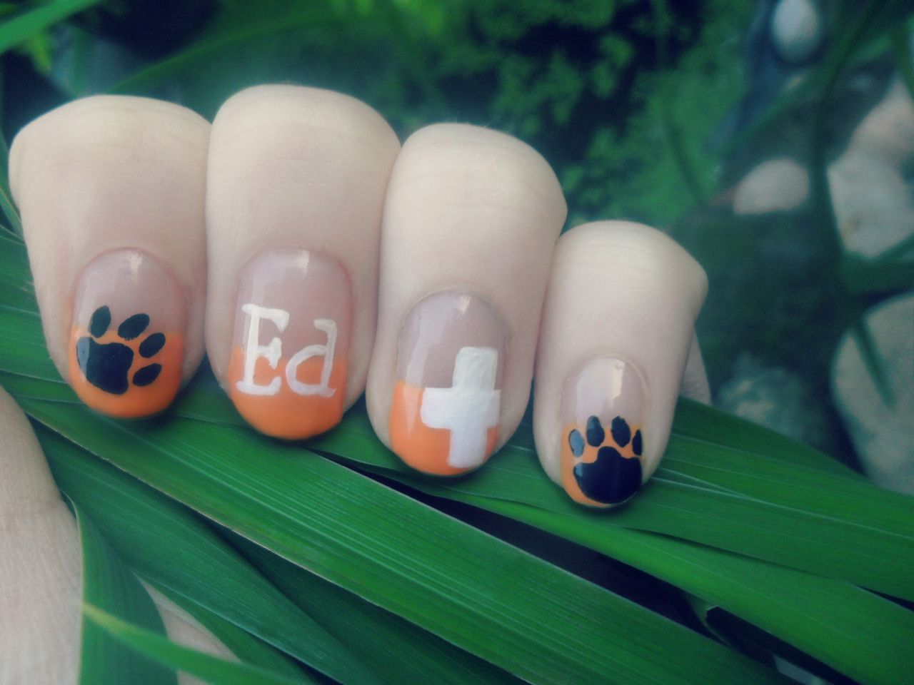 ed sheeran nail art! | Nails <3 | Pinterest | Manicure and Makeup
