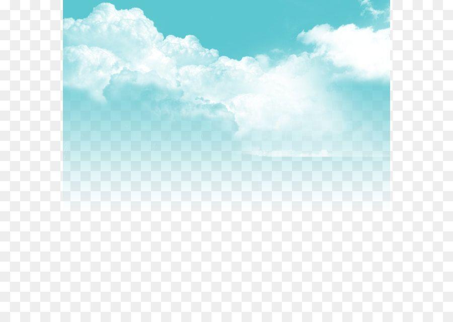 Blue Cloud Png Clipart