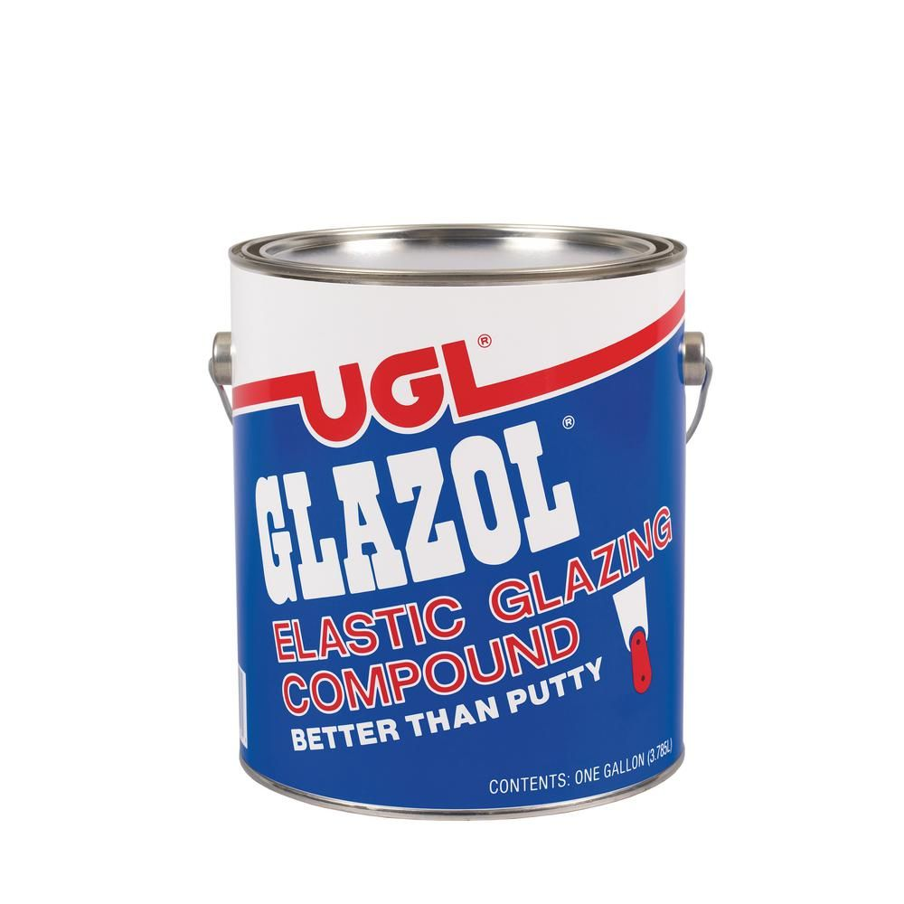 Ugl 1 Gal Glazol Glazing Compound Gray Home Depot Wood Siding Cool Tents