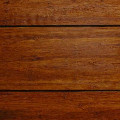 Home Decorators Collection Strand Woven Distressed Dark Honey 1 2