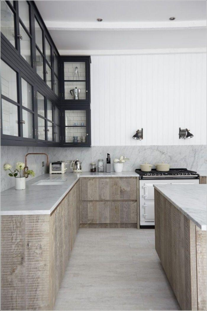 138 Awesome Scandinavian Kitchen Interior Design Ideas ...