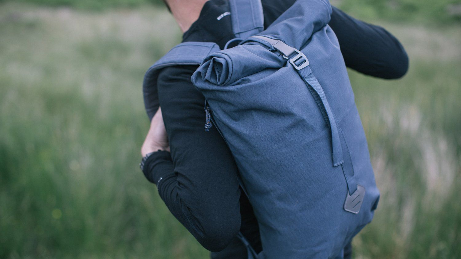 Daypack Smith the Roll Pack Rucksack Millican 18L - slate