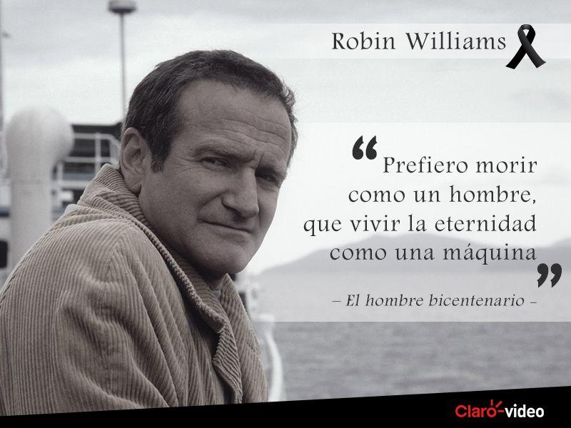 El Hombre Bicentenario Que Gran Pelicula Robin Williams