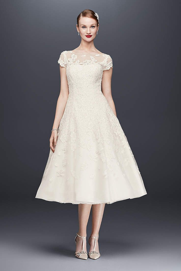 Find The Perfect Oleg Cassini Wedding Dresses At David S Bridal