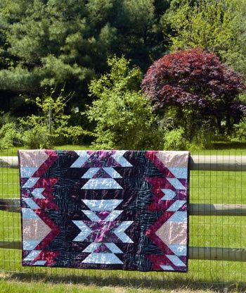 Jelly Roll Zig Zag Quilt Free Pattern By Benartex Quilts