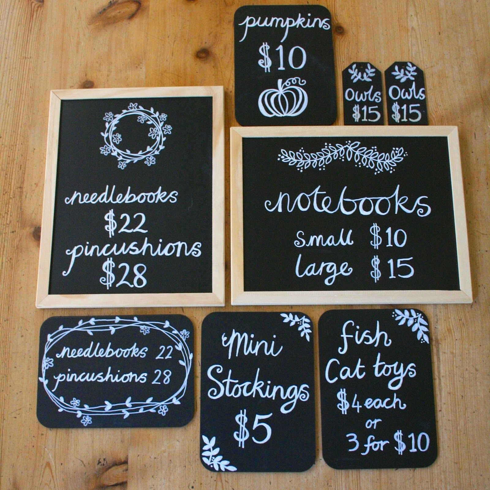 Craft fair chalkboard signs craft fair booth ideas pinterest craft fair chalkboard signs jeuxipadfo Image collections