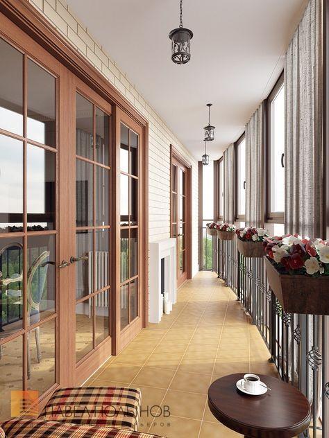 Фото: Лоджия - Дизайн трехкомнатной квартиры в ЖК «Академ ...
