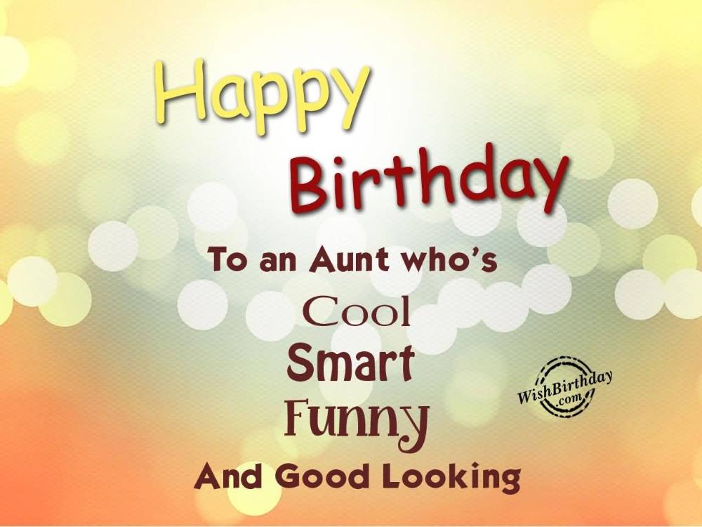 Happy Birthday Aunt Quotes Unique 50 Best Aunt Birthday Greetings
