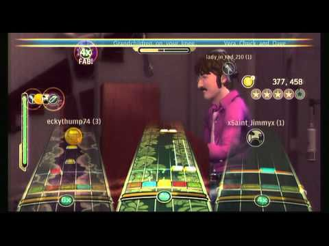 Beatles Rock Band - When I'm Sixty-Four - Full Band - YouTube