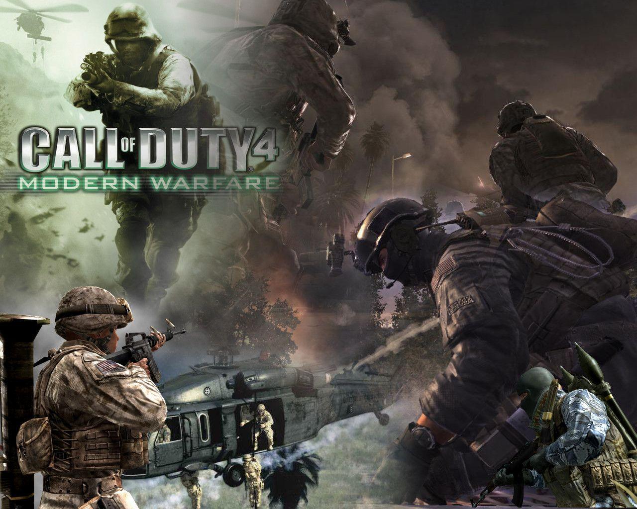 Call Of Duty 4 Modern Warfare Callofduty Modernwarfare