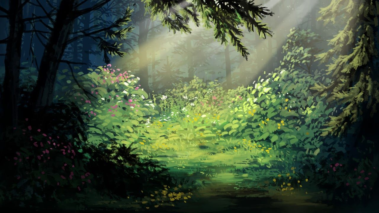 tumblr backgrounds forest digital paintings background absolutely