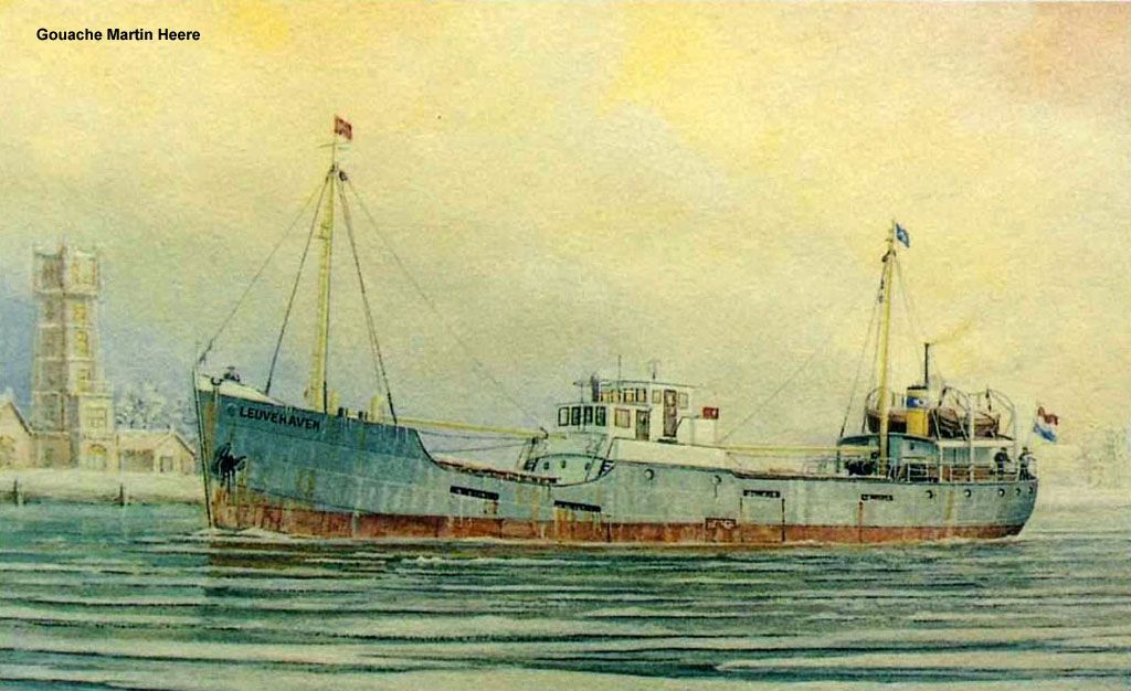 EUVEHAVEN 1936 op de werf van Niehuis van den Berg