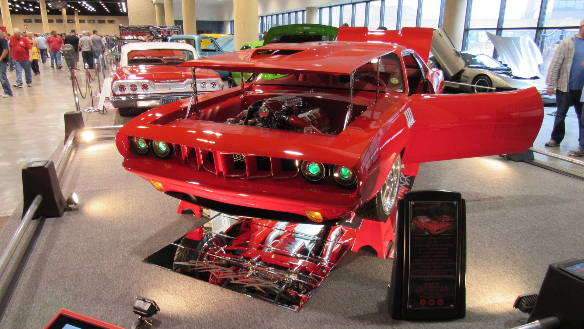 Striker Cuda World Of Wheels Birmingham AL - Car show birmingham al