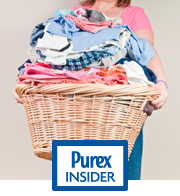 Nothing is certain but death, taxes and laundry? – By Robyn Roark, Purex Insider