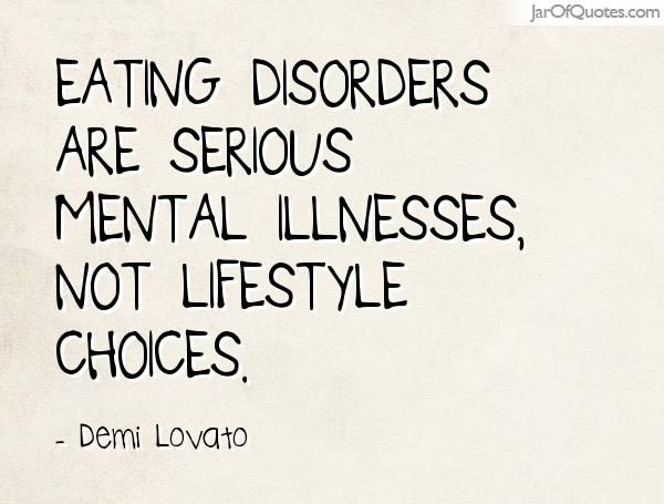 Eating Disorder A Mental Illness Find Out When You Should See