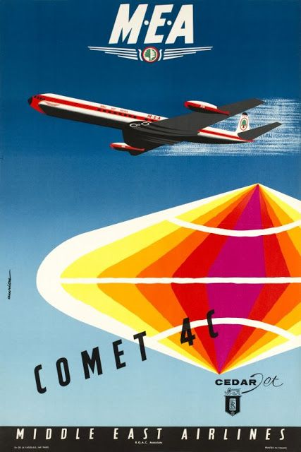 Comet 4-C * Middle East Airlines (1960s)