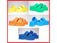 Modne Pianki Buty Damskie Klapki Na Koturnie 5530551339 Oficjalne Archiwum Allegro Shoe Rack Shoes