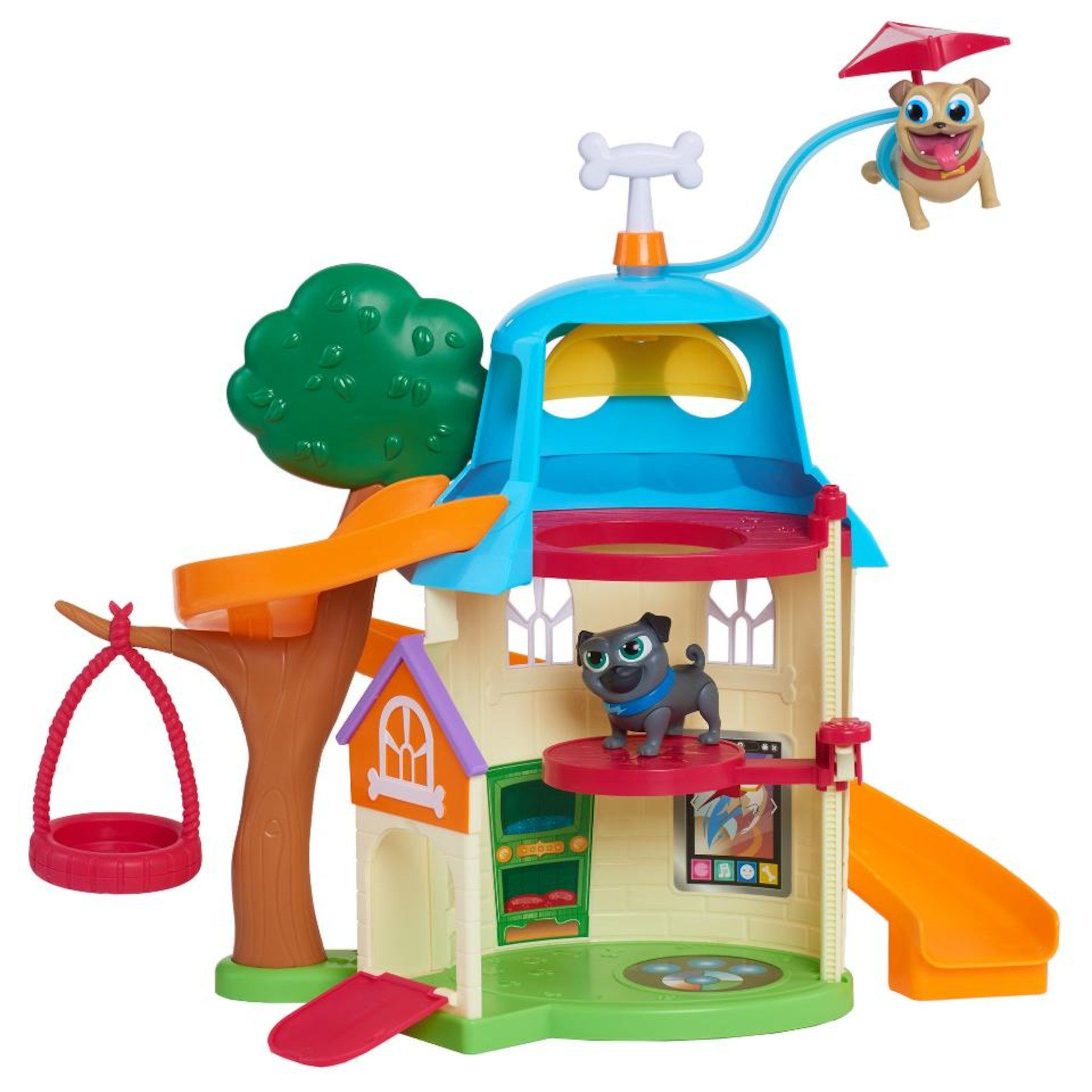 Disney Junior Puppy Dog Pals Doghouse Playset Dogs and