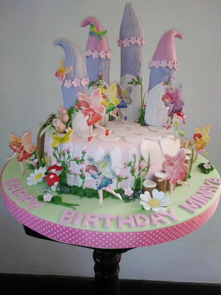 Fairy Theme Birthday Cake Designed And Created By Yamuna Silva Of