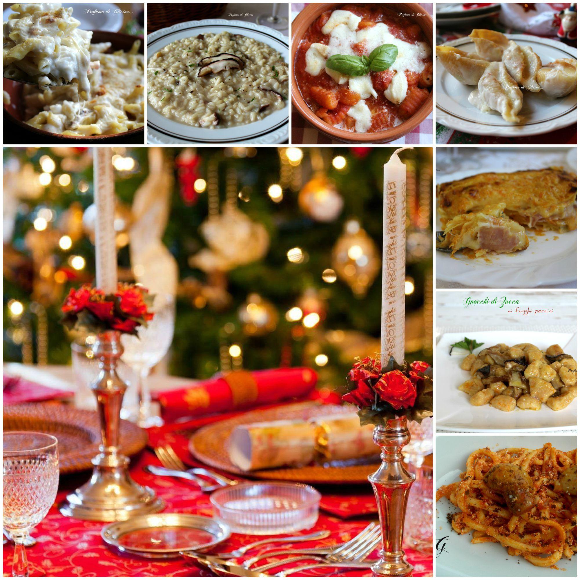 Menu Semplice Per Il Pranzo Di Natale.Menu Pranzo Di Natale Ricette Primi Piatti Ricette