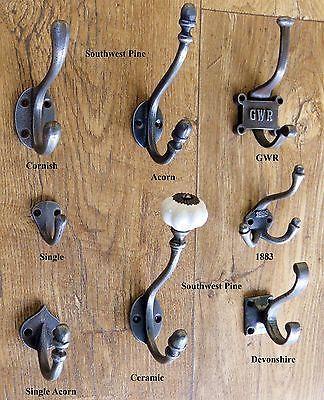 VIntage and Decorative Coat Hooks