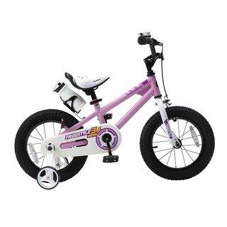 8485839641b RoyalBaby BMX Freestyle 18-Inch Kids' Bike with Training Wheels (Red ...