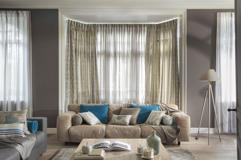 ambiance amboise stone rideaux confectionn s en tissu. Black Bedroom Furniture Sets. Home Design Ideas
