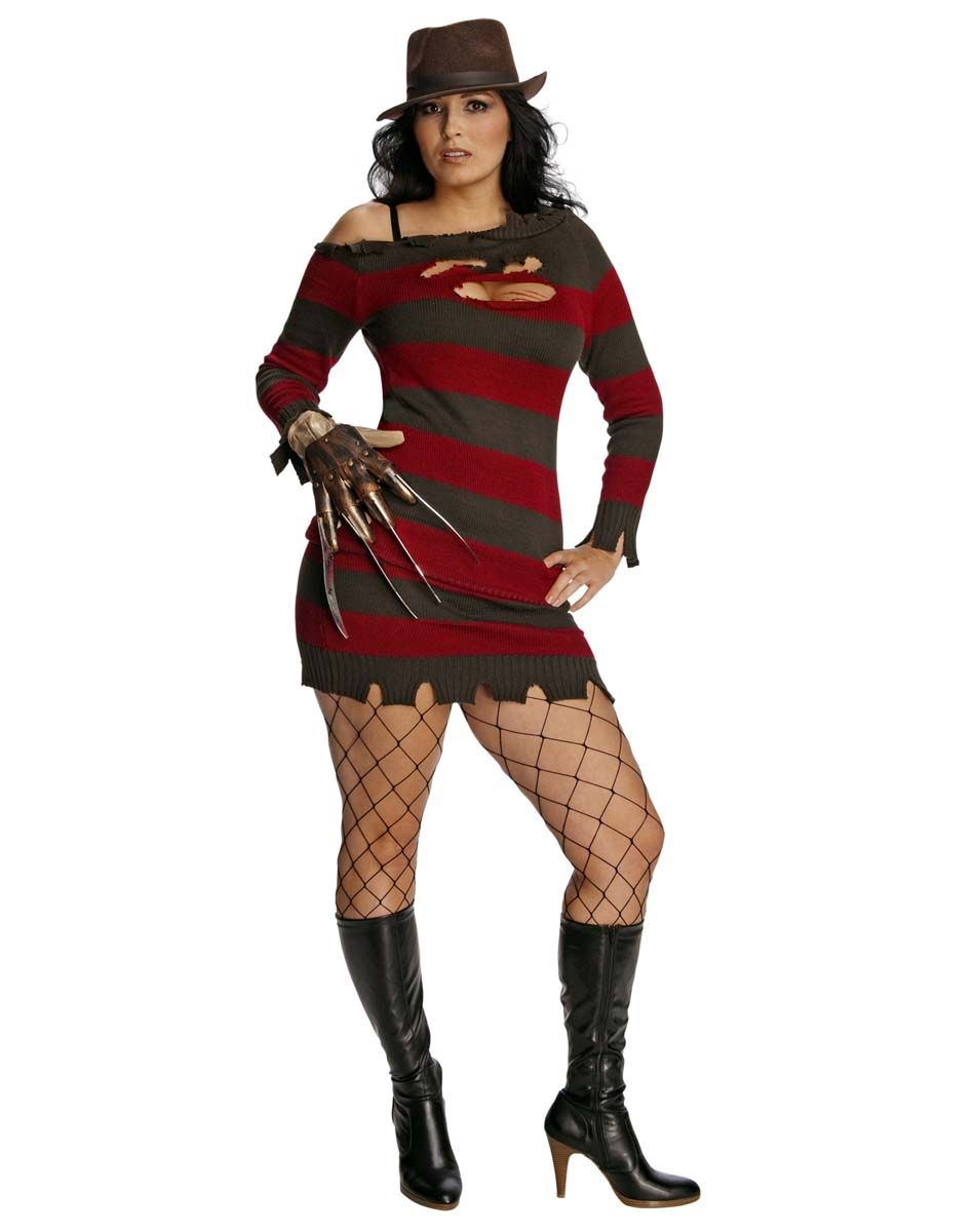 Freddy Costume... do we really need to try to make him sexy? Then ...