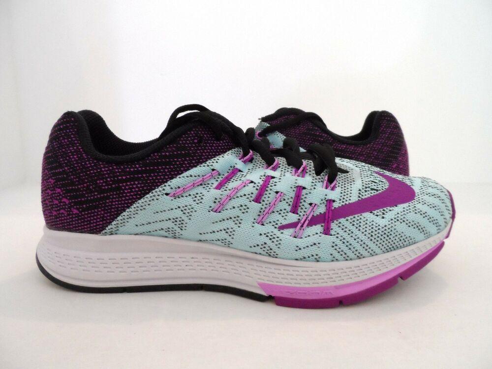 6b05190a5f70e Nike Women's Air Zoom Elite 8 Running Shoe Copa/Black/Fuchsia/Purple ...