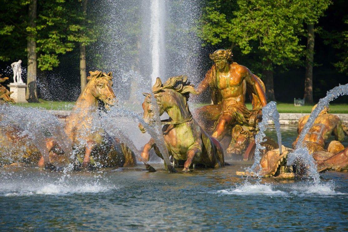 dans le Parc de Versailles