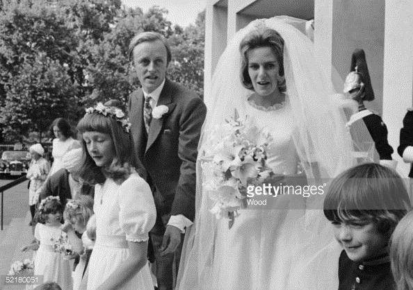 Camilla Shand marries Major Andrew Parker-Bowles at the Guards ...