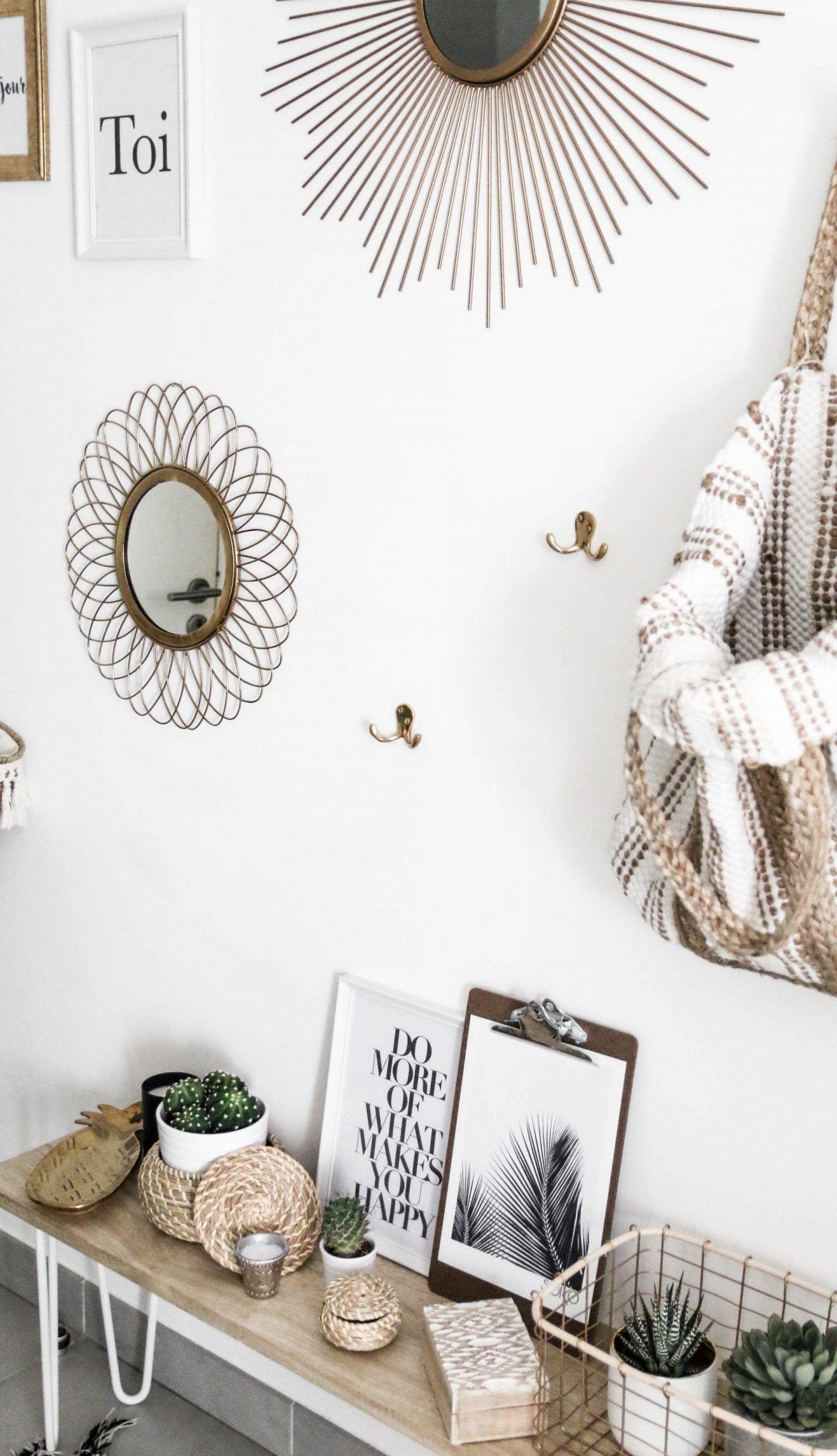 idee deco entree boheme hall parents room home decor. Black Bedroom Furniture Sets. Home Design Ideas