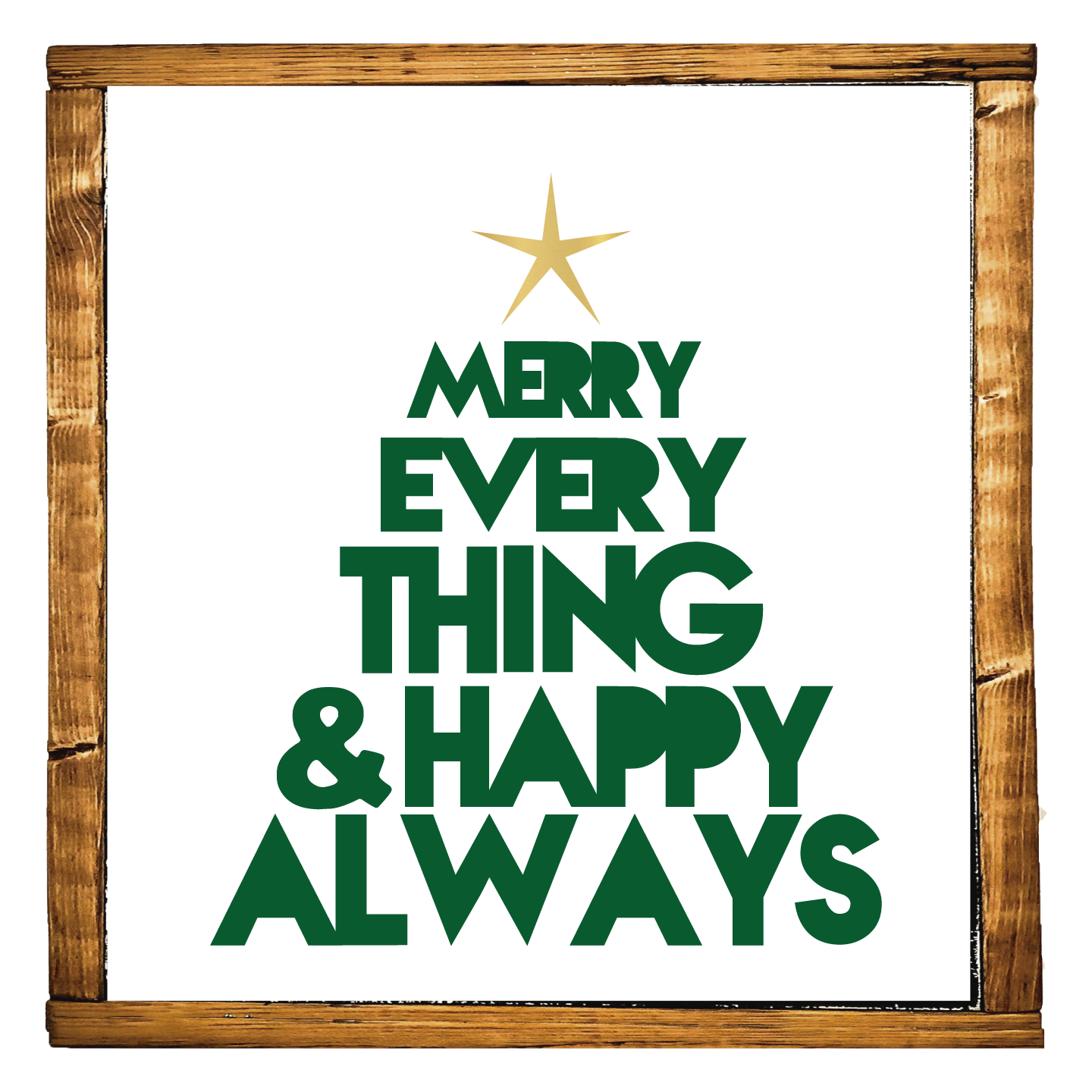 Merry Everything Tree Southernmesatrading Cool wall