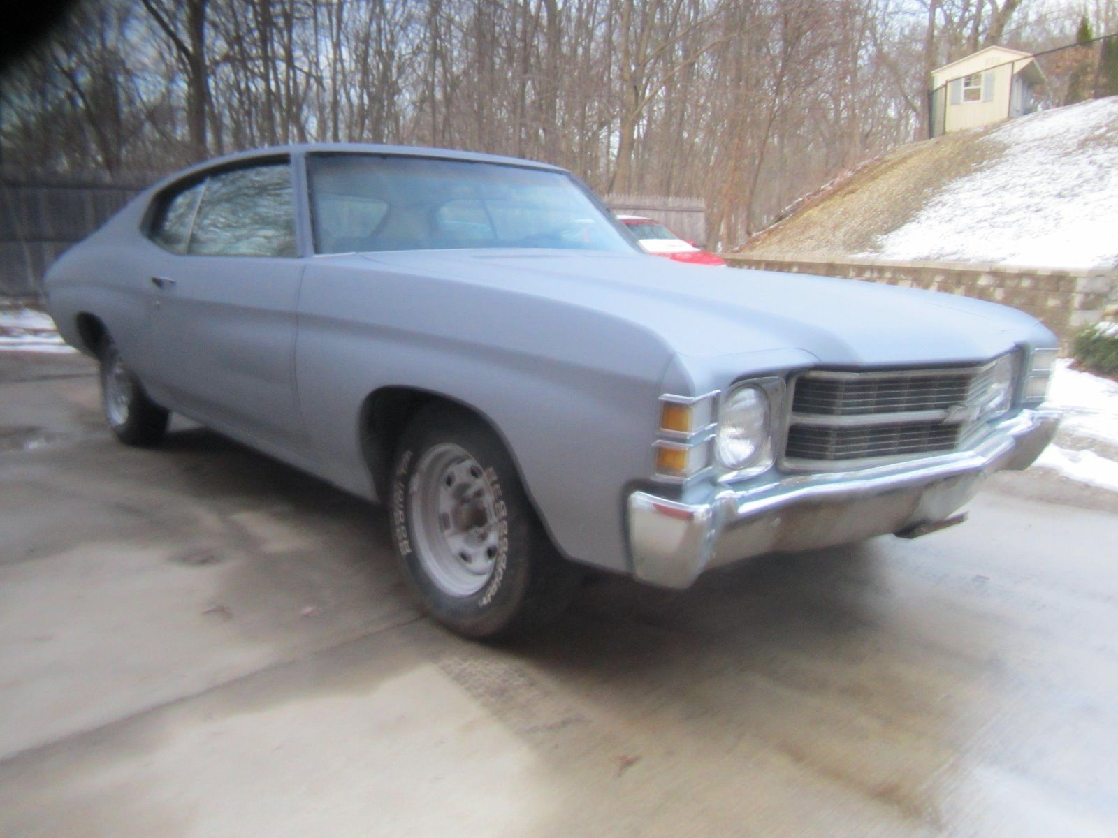 needs finishing 1971 Chevrolet Chevelle project | Project cars for ...