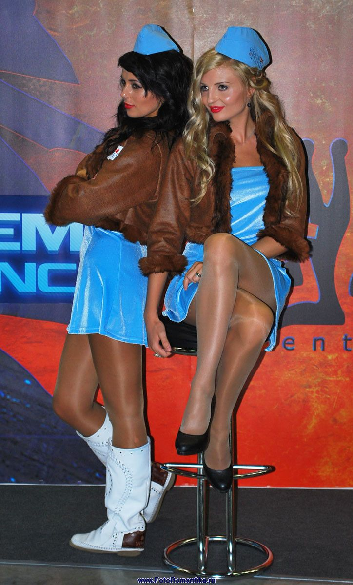 Racequeens with pantyhose