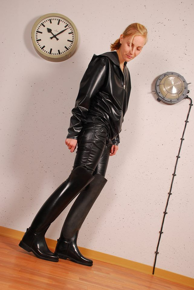 Overknee Rubber Ridingboots From Rubber Boots And Waders