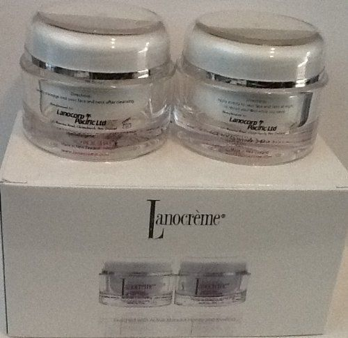 Lanocreme Advanced Collagen Enriched Formulation Set of 2 Creams by Lanocreme. $29.99. Lanocreme Advanced Collagen Enriched Formulation Set of 2 Creams. One Lanocreme Reviving Night Cream - 1 ¾ oz.. Each contains: 1 ¾ oz. - 50 g. Lanocreme Hydrating Day Cream - 1 ¾ oz.. A perfect set for.. Lanocreme Reviving Night Cream - 1 ¾ oz. Advanced Collagen Enriched Formulation. Enriched with Active Manuka Honey and Kiwifruit. Applied nightly, this unique cream will ge...