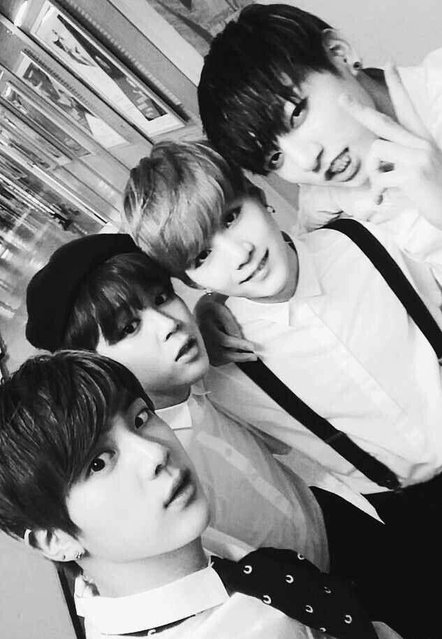 BTS   Jin, Jimin, Suga and Jungkook
