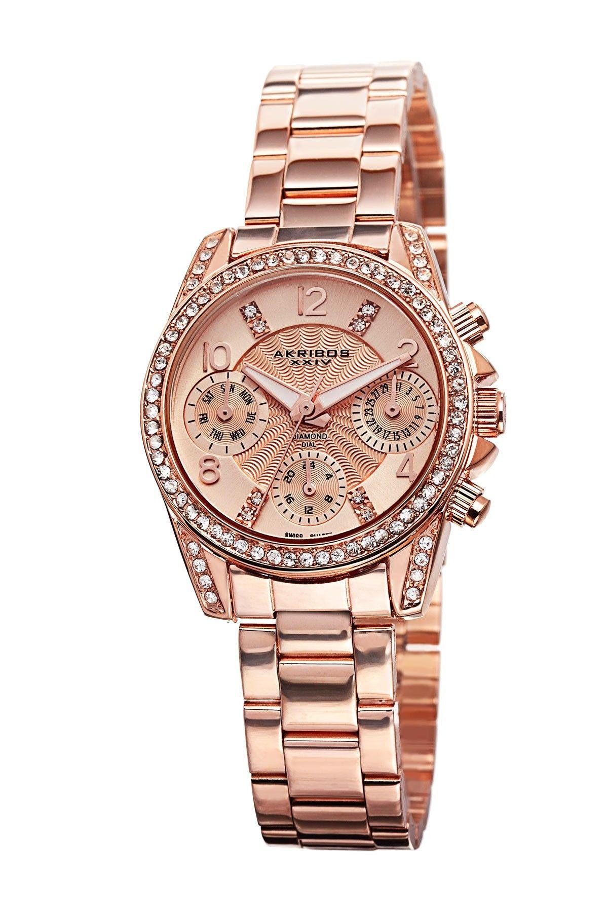 copper patina wristwatch