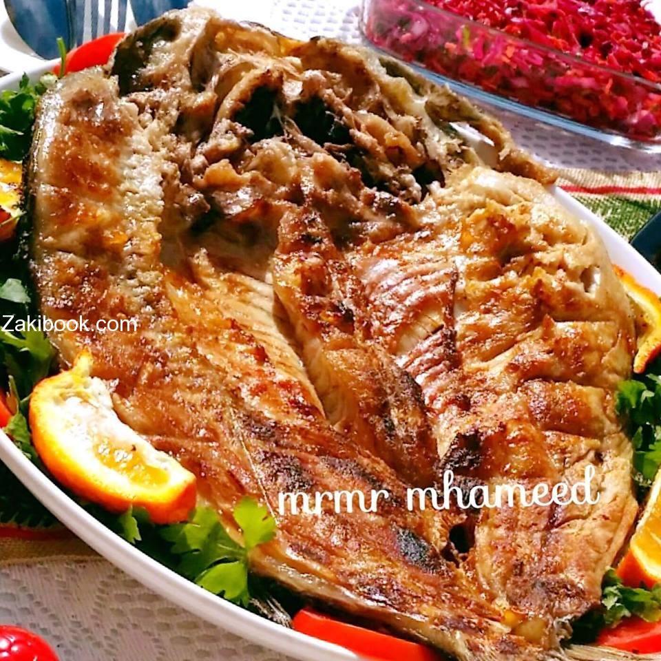السمك العراقي على الفحم زاكي Food Cooking Main Dishes