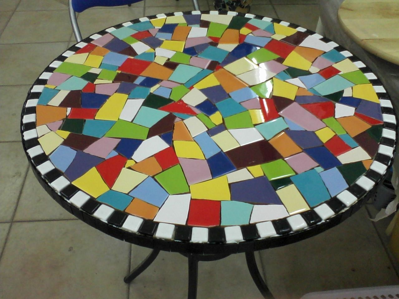 Best 12 mosaic table mosaic table