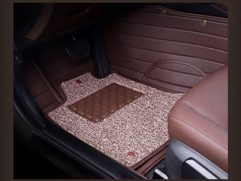 2016 New Car Floor Mats Leather Pad For Peugeot 301 2008 308 408 508 3008 Rcz 208 4008 308s Caddy Combi Vr6 Multiv Interior Accessories Rug Sets Car Floor Mats