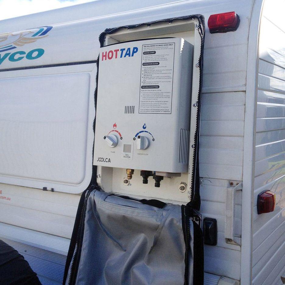 Hottap portable lpg water heater portable water