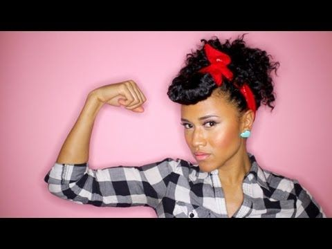 How To Curly Hair Rockabilly Look Curly Hair Styles