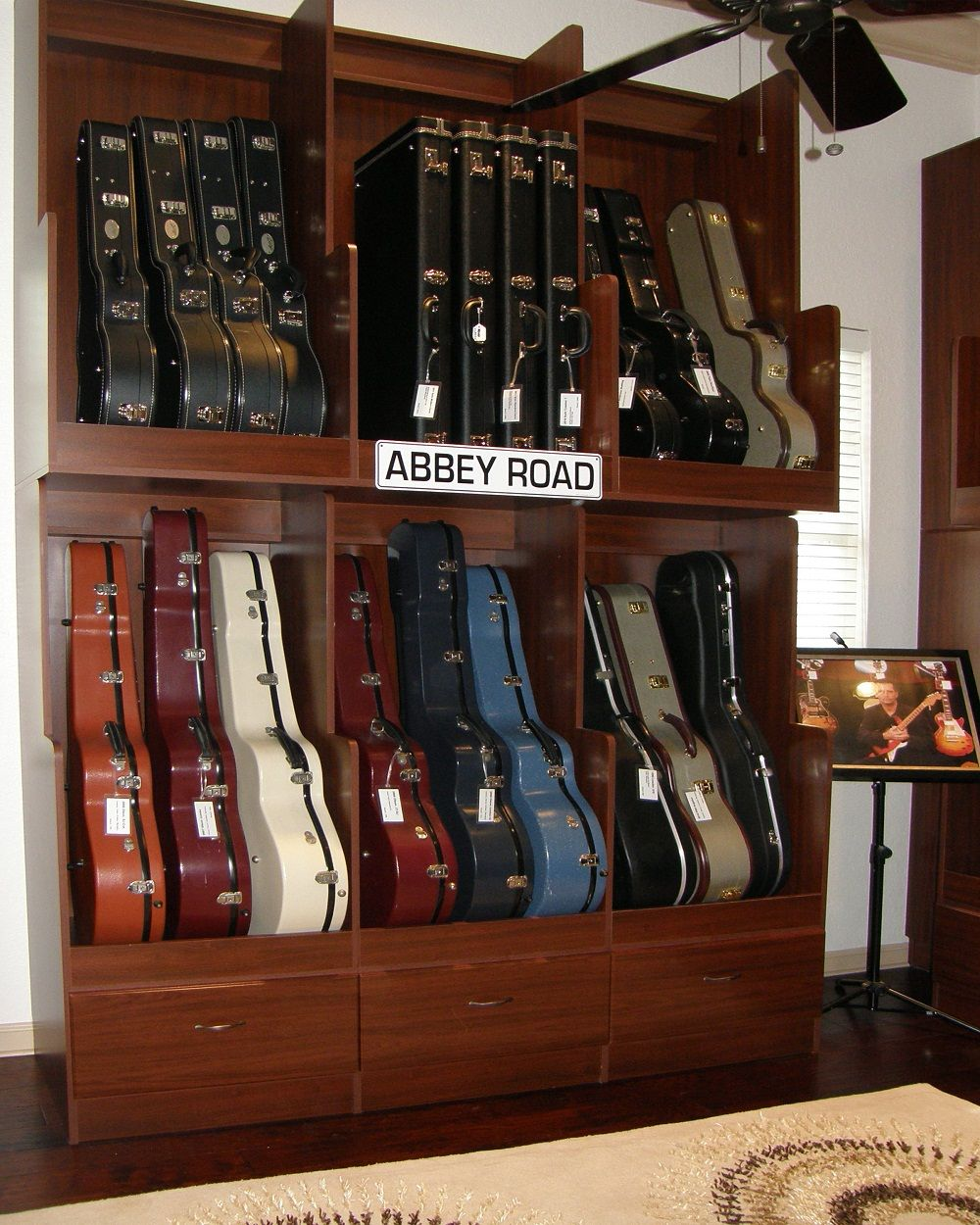 Top Shelf Design Awards #guitars| Cabinetsandclosetsexpo.com