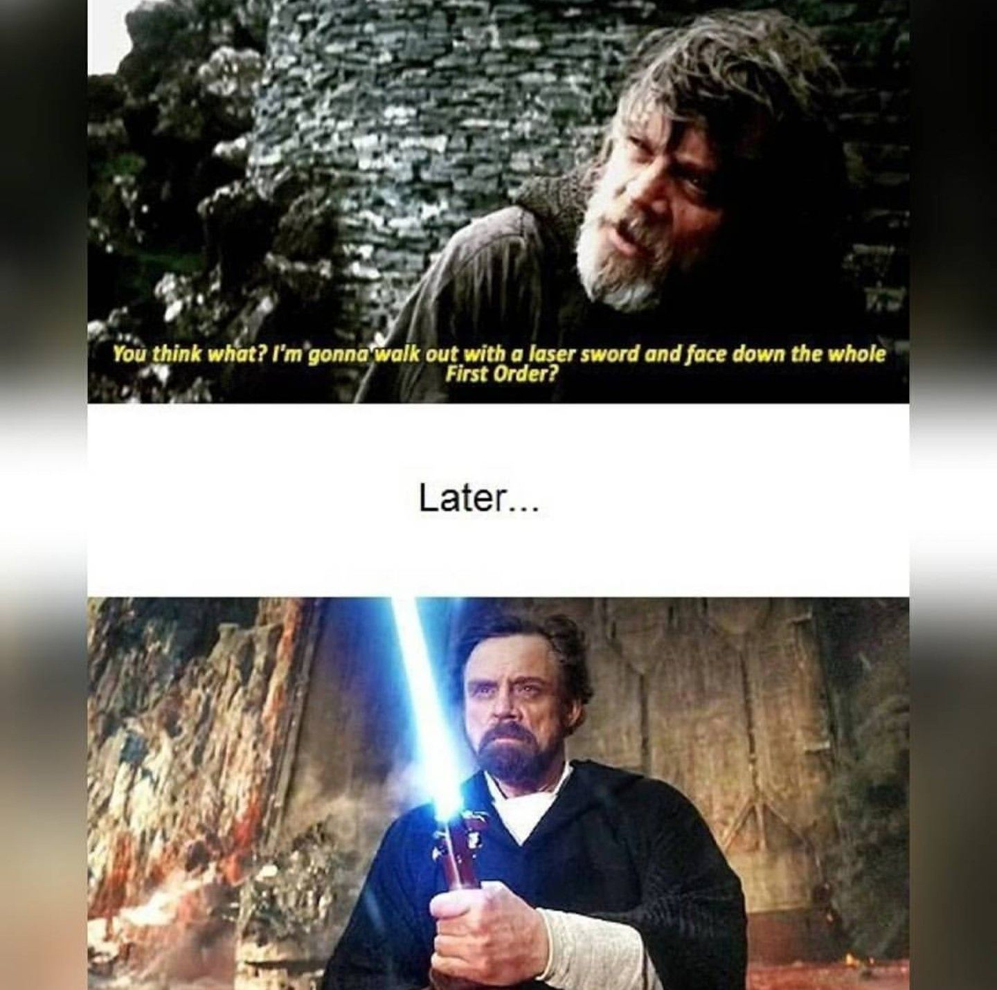 Pin By Taztoothless On Star Wars Things Star Wars Humor Ray Star Wars Star Wars Memes