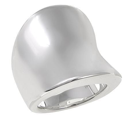 0fa0b9f17 Shop Sevilla Silver™ Concave Electroform Ring 8616471, read customer  reviews and more at HSN.com.