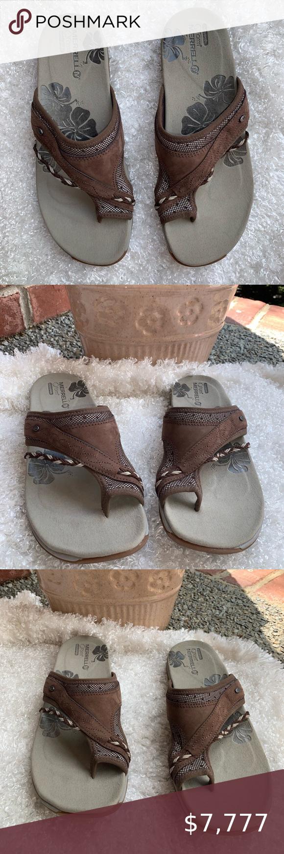 Merrell QForm Air Cushion Sandals in