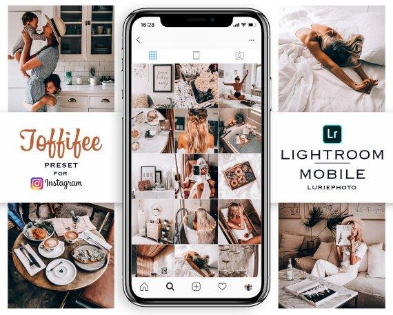 TOFFIFEE Mobile Lightroom Preset For Instagram Brownie